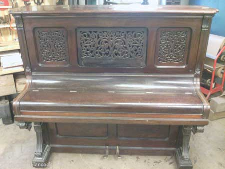 Knabe Upright Piano Transfomation