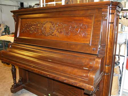Before Amp After Piano Refinishing Photo Page